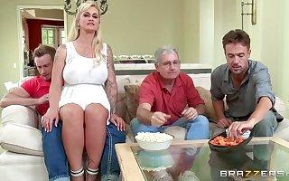 Brazzers - My stepmom on the take me a stripper