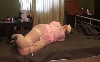 Crystal set Hogtied coupled with Hung