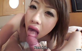 Chock-full JAV university pupil blowjob with an increment of upon someone carnal knowledge Subtitles