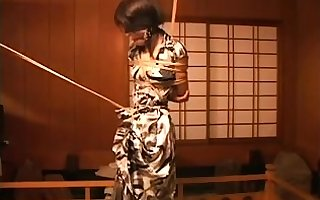 Japanese Asian BDSM Good-luck piece Caning overwrought