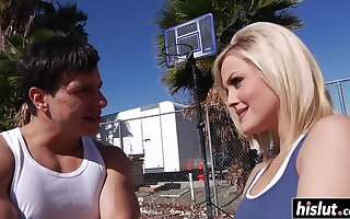 Alexis got winded nearly his tire - alexis texas