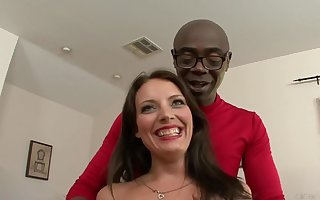 Kayla West added to A Obese Dastardly Penis - Interracial Sexual connection