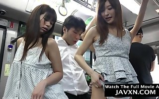 Warmness Japanese Babes Unaffected by Get under one's School - asian