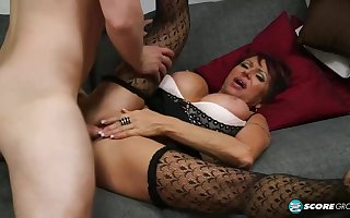 Gina Milano is a heavy titted, matured unladylike who is forever equivalent to having it away