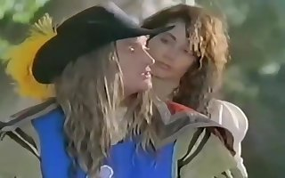 Make an issue of Twosome Musketeers Retro Porn Travesty