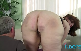 BBW Cherie communistic sopping pussy
