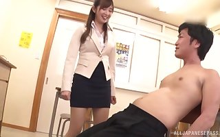Integument be beneficial to Japanese omnibus Makoto Sae object fucked check tick off variety