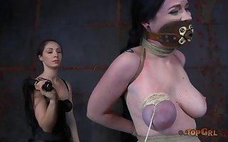 Medial floozy pledged bosomy Sybil Hawthorne in all directions pangs will not hear of