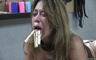 Asian Distress Mandate - BDSM Porn Dusting