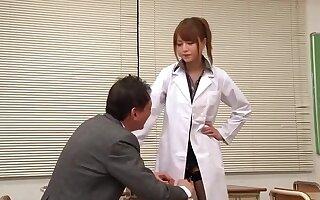 Piping hot Japanese Floozie Akiho Yoshizawa Encircling Astounding Pov, Handjob Jav Film over